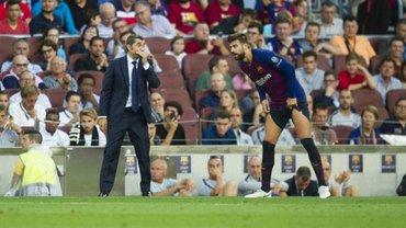 Барселона у вогні: нецензурна сварка двох лідерів та конфлікт Вальверде з Піке
