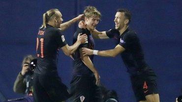 Хорватия – Испания – 3:2 – видео голов и обзор матча