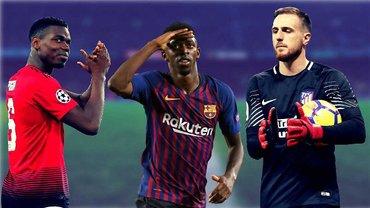 Топ-5 самых ожидаемых трансферов зимы: Дембеле надоел Барселоне, Погба хочет к Роналду, сенсационный камбэк Ибры