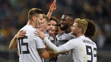Россия разгромно уступила сборной Германии в товарищеском матче