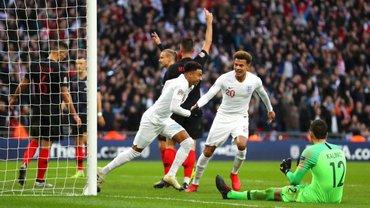Англия – Хорватия – 2:1 – видео голов и обзор матча