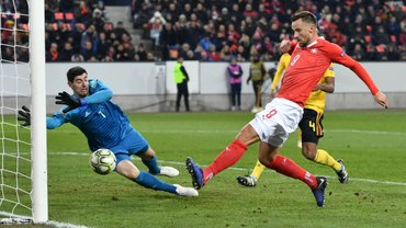 Лига наций: Швейцария сотворила фантастический камбэк в матче против Бельгии и вышла в плей-офф турнира