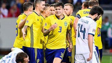 Лига наций: Швеция без проблем обыграла Россию, вышла в дивизион А и стала потенциальным соперником Украины в плей-офф