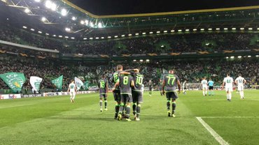 Ворскла разгромно проиграла Спортингу и завершила выступления в Лиге Европы
