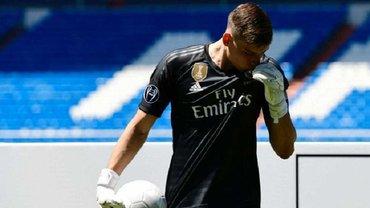 Лунин может сыграть против Реала в Кубке Испании – в Мадриде хотят сделать исключение для украинца