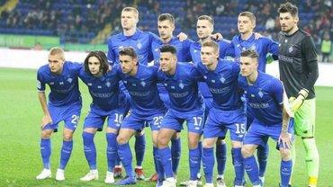 Динамо сыграет с Олимпиакосом в 1/16 финала Лиги Европы