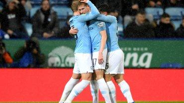 Манчестер Сіті переміг Лестер та вийшов у півфінал Кубка ліги, Зінченко виконав переможний удар у серії пенальті