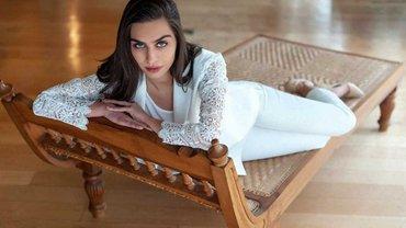 Девушка дня: Амине – невероятно скромная красавица с титулом Мисс Турция, которую ведет под венец фанат Эрдогана Озил