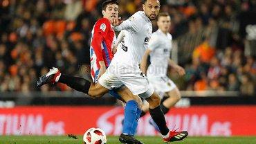 Кубок Іспанії: Валенсія рятується у матчі з Хіхоном, Хетафе проходить Вальядолід