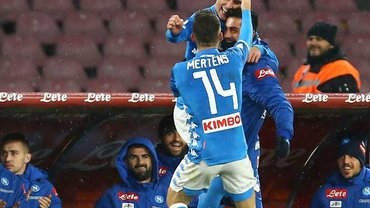Наполи в зрелищном матче победил Лацио
