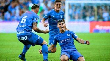Малиновский вместе с партнерами по Генку входит в топ-5 атакующих трио Европы – впереди только гранды