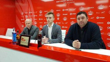 """""""Это большой шаг в моей карьере, моя мечта"""", – Луго представил Лебеденко"""