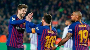 Барселона здобула мінімальну перемогу над Вальядолідом