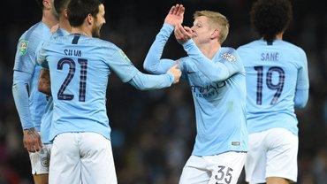 Ньюпорт – Манчестер Сити: Зинченко выходит в стартовом составе на матч Кубка Англии