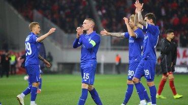 Україна збільшила відставання від Бельгії у клубному рейтингу УЄФА