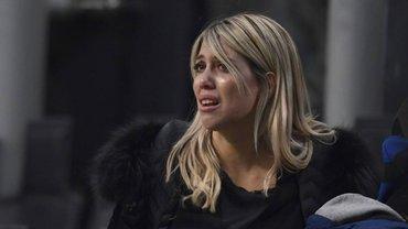 Жена Икарди плакала на телевидении: Маротта позвонил в прямой эфир, а фанаты Интера сделали жестокое заявление