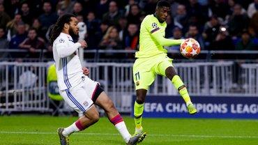 Барселона не смогла дожать Лион на выезде