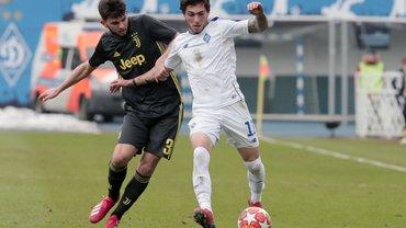 Динамо U-19 разгромило Ювентус U-19 и вышло в 1/8 финала Юношеской лиги УЕФА