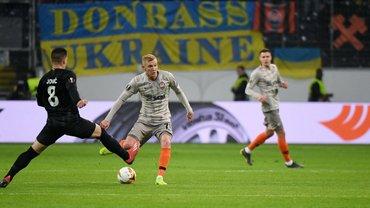 Айнтрахт – Шахтер: стартовые составы команд на матч Лиги Европы