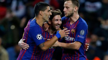 Лион – Барселона: стартовые составы на матч Лиги чемпионов