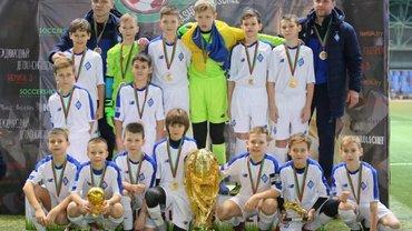 Динамо U-11 виграло міжнародний турнір – кияни здолали Мілан та у фіналі перемогли команду з Росії
