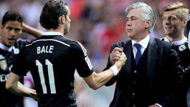 Анчелотті назвав Бейла причиною свого звільнення з Реала