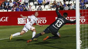 Альбасете не смог одолеть Овьедо – Зозуля потерял гол и получил спорную дисквалификацию на глазах VIP-гостя