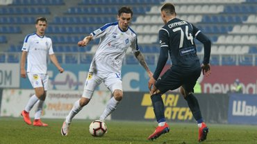 Динамо победило Олимпик в матче с двумя пенальти