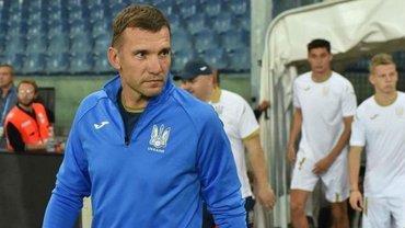 Евро-2020: Украина начала подготовку к первым матчам отбора – прямая трансляция пресс-конференции Андрея Шевченко