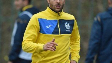 Португалия – Украина: Мораес провел первую тренировку в сборной