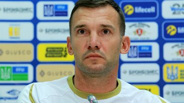 Португалия – Украина: предматчевая пресс-конференция Андрея Шевченко