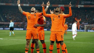 Евро-2020, квалификация: Хорватия вырвала победу над Азербайджаном, Нидерланды разгромили Беларусь