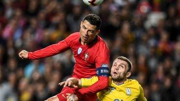 Португалия – Украина: Пятов с сейвом матча, Роналду прощает, судья отменяет гол