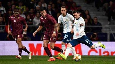 Аргентина після повернення Мессі у збірну поступилася Венесуелі