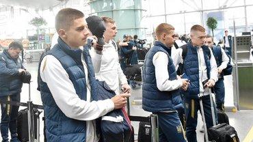 """Люксембург – Україна: """"синьо-жовті"""" прибули на матч відбору до Євро-2020"""