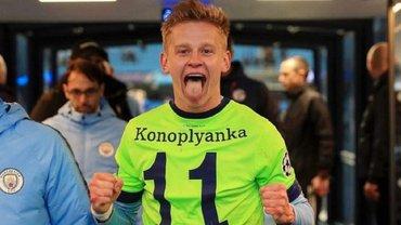 Зінченко повернувся у загальну групу Манчестер Сіті після травми