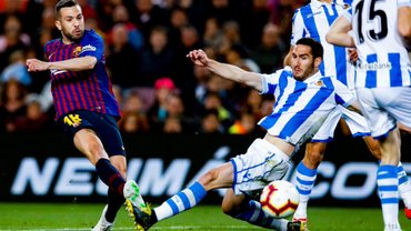 Барселона вдома здобула непросту перемогу над Реал Сосьєдадом