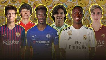"""""""Покоління емоджі"""": 10 молодих футболістів, які наступають на Європу – неочікувані імена серед зірочок за 100 млн євро"""