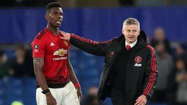 Погба выступил против Сульшера – игроки Манчестер Юнайтед разделились на два лагеря