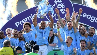 Игроки Манчестер Сити разбили Кубок АПЛ – пранк дня