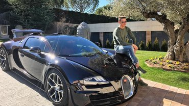 Роналду похизувався новим автомобілем вартістю близько 1 млн євро