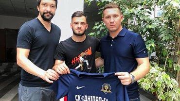 Булеца офіційно став гравцем СК Дніпро-1