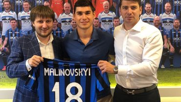 Малиновский официально перешел в Аталанту