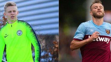Манчестер Сити – Вест Хэм: стартовые составы – Зинченко и Ярмоленко попали в заявку на матч
