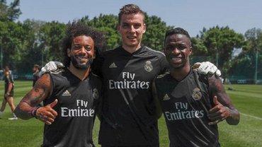 """""""Для нього норма – запустити м'ячем в когось із персоналу"""", – Лунін назвав """"найвідбитішого"""" футболіста Реала"""
