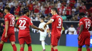 Бавария одержала легкую победу над Реалом на Международном кубке чемпионов