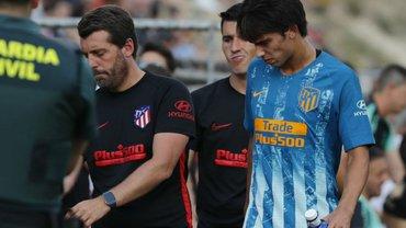 Феліш отримав травму в дебютному матчі за Атлетіко