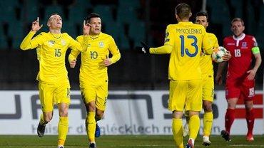 Сборная Украины попала в тройку лучших в отборе на Евро-2020 за интересным статистическим показателем