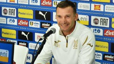 Шевченко объявил заявку сборной Украины на матчи против Нигерии и Литвы