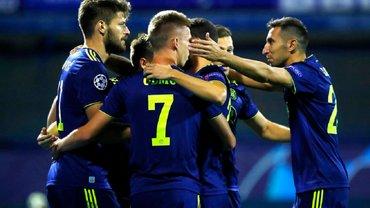 Квалификация Лиги чемпионов: Олимпиакос разбил Краснодар, Динамо Загреб уверенно переиграло Русенборг